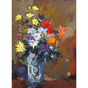 MOLLY LAMB BOBAK, RCA- Flowers of Ceasaria