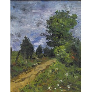WILLIAM GOODRIDGE ROBERTS, RCA- Autumn Sky, 1955