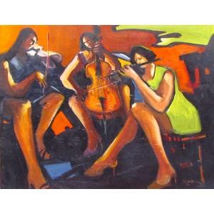 MARTHA MARKOWSKY - The Three Musicians