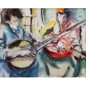HENRI L. MASSON, RCA - Duo pour mandolines (1958)