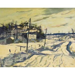 HENRI L. MASSON, RCA- Road to Angers