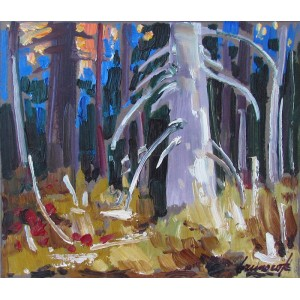 BRUNO CÔTÉ 1940-2010 - Banff, Bow River