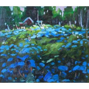 BRUNO CÔTÉ 1940-2010 - Field of Blue