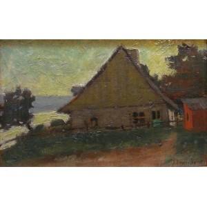 JOHN Y. JOHNSTONE, RCA 1887-1930 - Beaupré, QC, ca 1915
