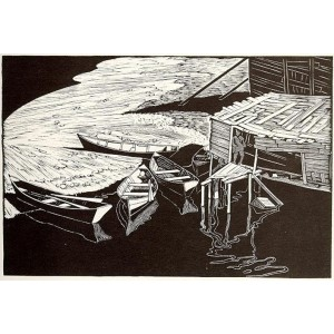 WALTER J. PHILLIPS, RCA 1884-1963 - Snake Island, Lake Winnipeg