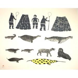 JAMASIE TEEVEE 1910-1985 - Fox Traps and Anxious Hunters