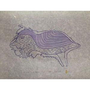 IRENE AVAALAAQIAQ 1941 - Bird Facing Shadows