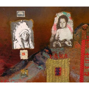 JANE ASH POITRAS, RCA 1951 - From Shamanism Came Buddhism